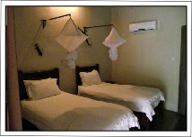 Rooms on accommodated kruger safari tours