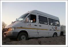 A Rush Adventures Tour Bus